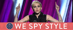 We Spy: Miley Cyrus's Hairy Armpits