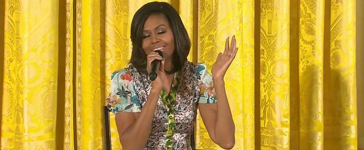 Michelle Obama Has the Best Reaction When a Little Girl Asks Her Age