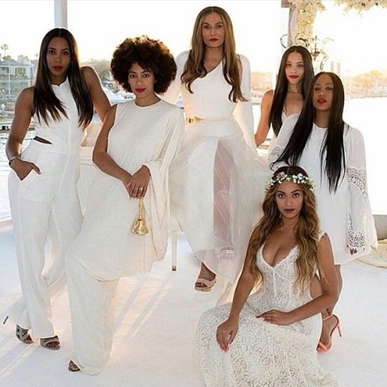 Beyonce at Mom Tina Knowles and Richard Lawson's Wedding