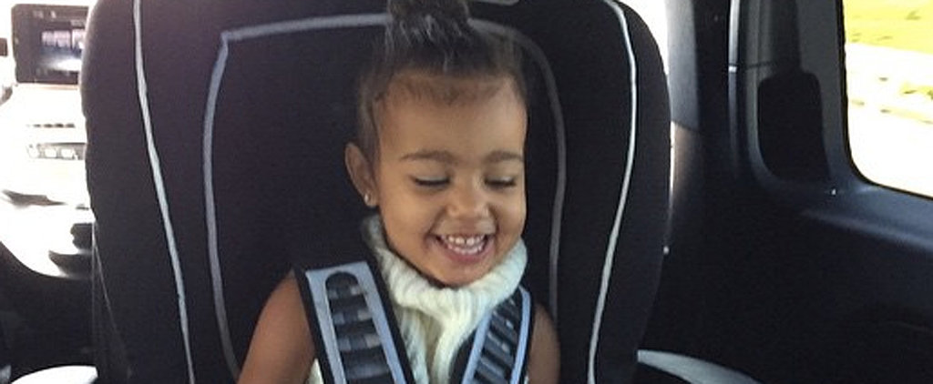 North West Couldn't Be Cuter in Her New Pictures