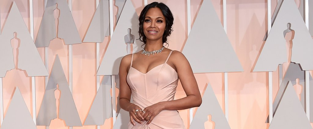 "Zoe Saldana Calls Postpartum Weight Loss ""Painful . . . but Worth It"""