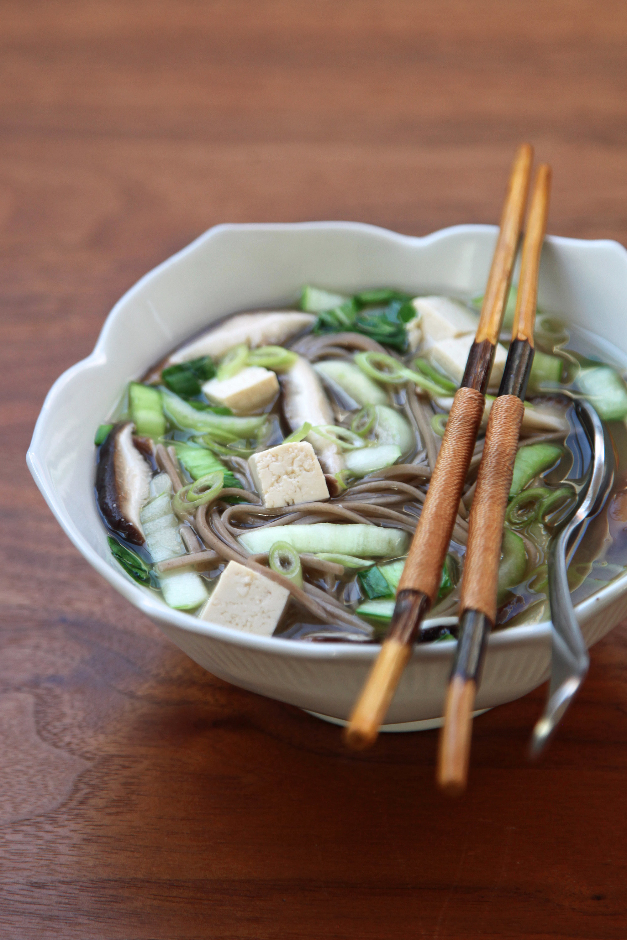 Vegan Miso Soup With Soba and Mushrooms | 35 1-Pot and ...
