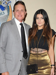 Kylie Jenner Supports Bruce Jenner with #FlashbackFriday Photo