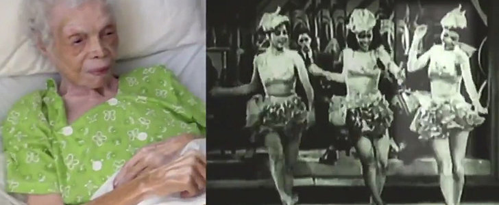 102-Year-Old Dancer Sees Herself on Screen For the First Time, and Our Hearts Melt
