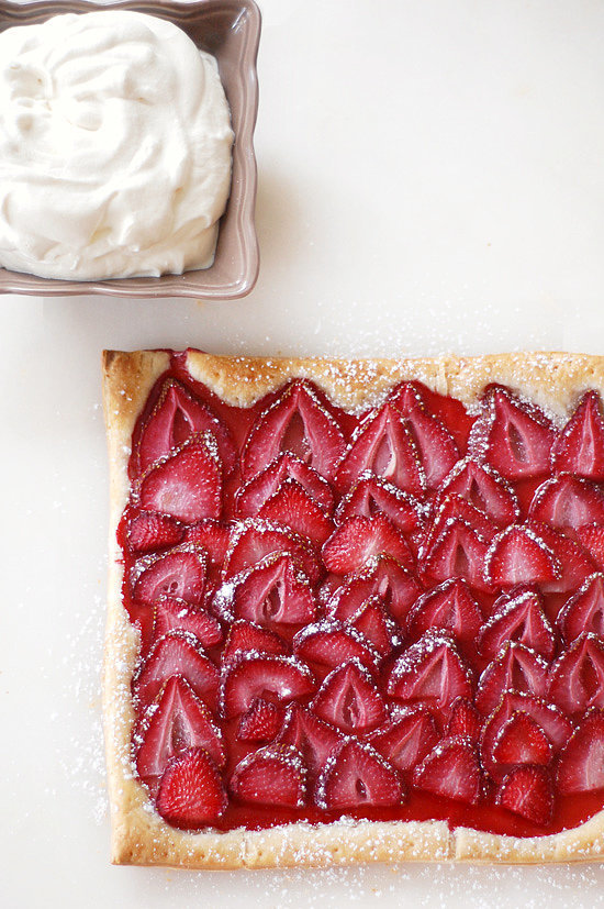 The Easiest Strawberry Tart You'll Ever Make | Lose Yourself in the ...