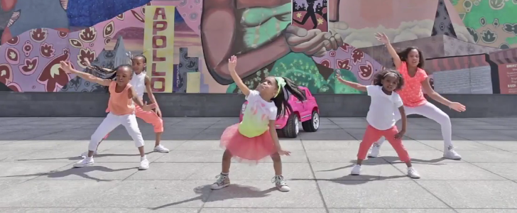That Adorable Dancing 4-Year-Old Is Back, and This Time She's Got a Crew