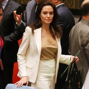 Angelina Jolie at the United Nations April 2015