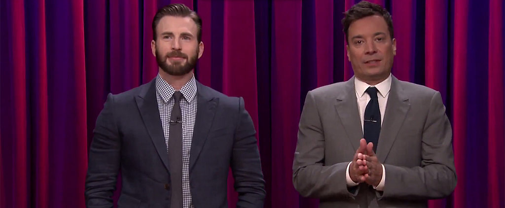 Chris Evans and His Hot Brother Dominate Flip Cup on Fallon