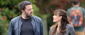 Ben Affleck and Jennifer Garner Meet For a Morning Walk