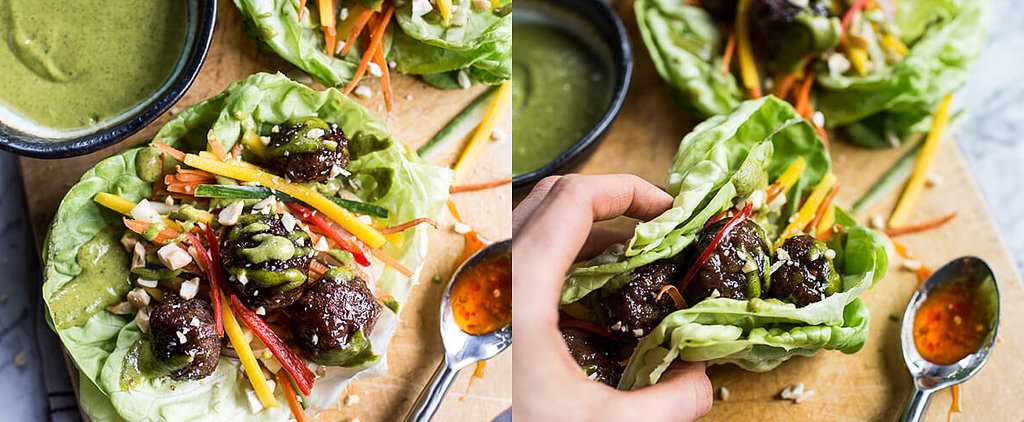 Lettuce Wraps Go Hearty With a Vietnamese Meatball Filling