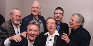 Here's What The 'Monty Python' Reunion Looked Like