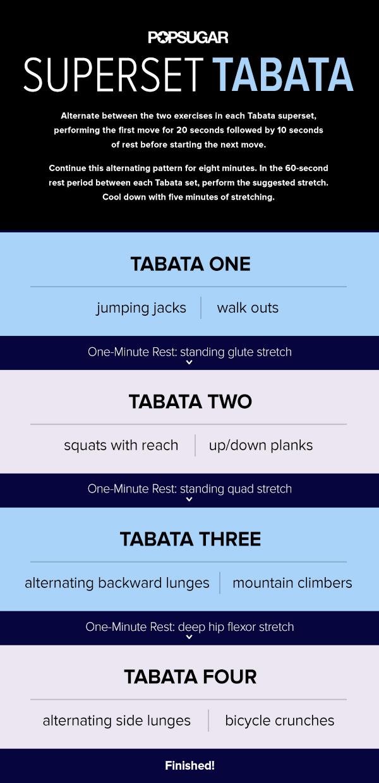 Tabata Workout | 40 Minutes | POPSUGAR Fitness