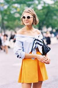 How To Style An Off-The-Shoulder Top When It's Hot Out