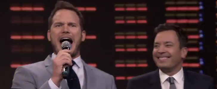 Chris Pratt Singing Karaoke Is Equally Adorable and Embarrassing