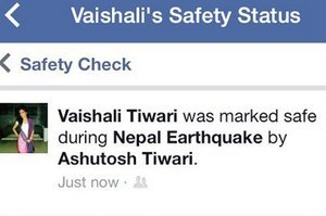 People In Nepal Are Letting Their Loved Ones Know They Are Safe Using Facebook