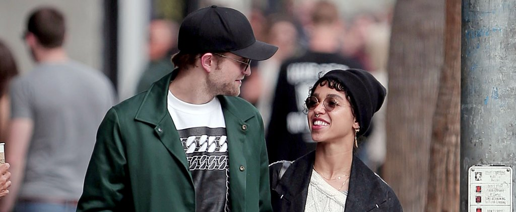 Robert Pattinson and FKA Twigs Take a Smiley Stroll — Is This Her Engagement Ring?