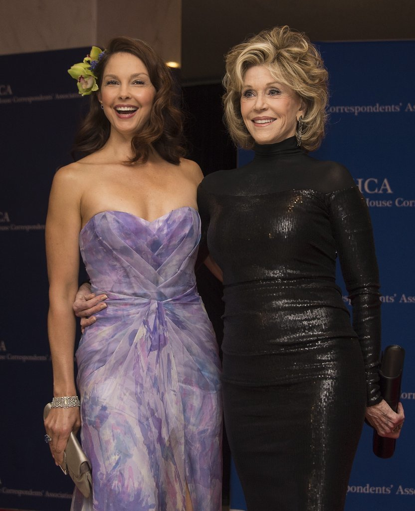 Photo of Ashley Judd & her friend  Jane Fonda.