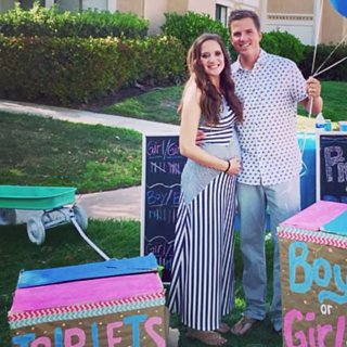 Surprise Triplets Gender Reveal