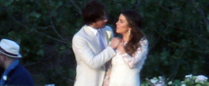 Nikki Reed and Ian Somerhalder Were Perfectly Coordinated on Their Wedding Day