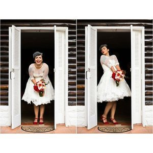 Retro Wedding Dresses and Inspiration
