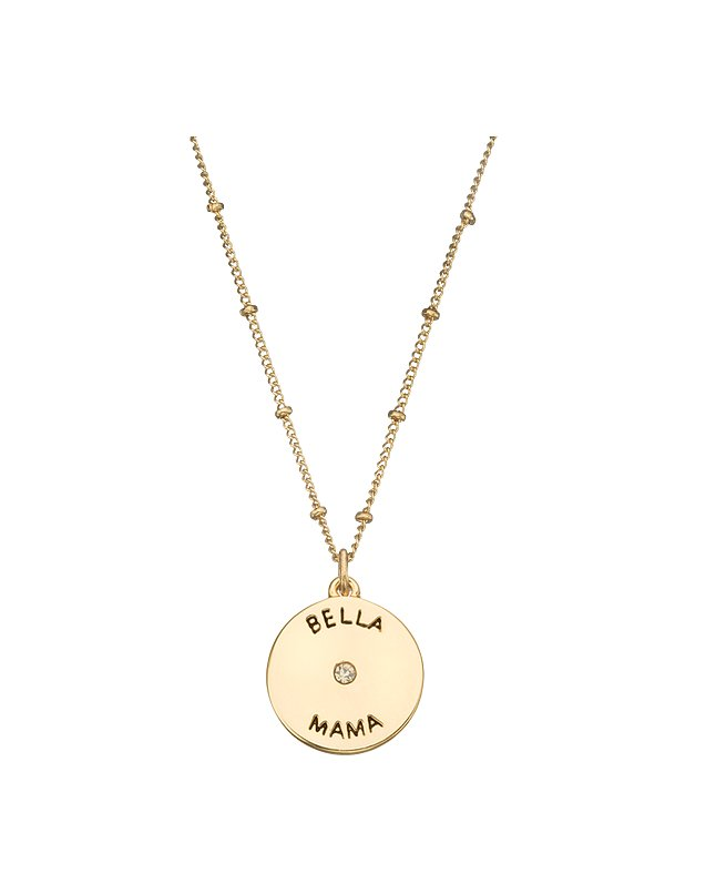 This delicate necklace sends a sweet message — and what mom doesn't love that?! My Jewel Bar Beautiful Mama necklace ($9)