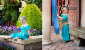 This Little Girl With Down Syndrome Perfectly Portrays Disney Characters [Photos]