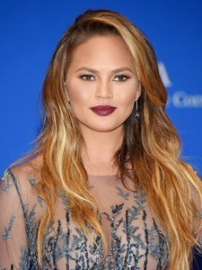 Found! Chrissy Teigen's Perfect Burgundy Lipstick