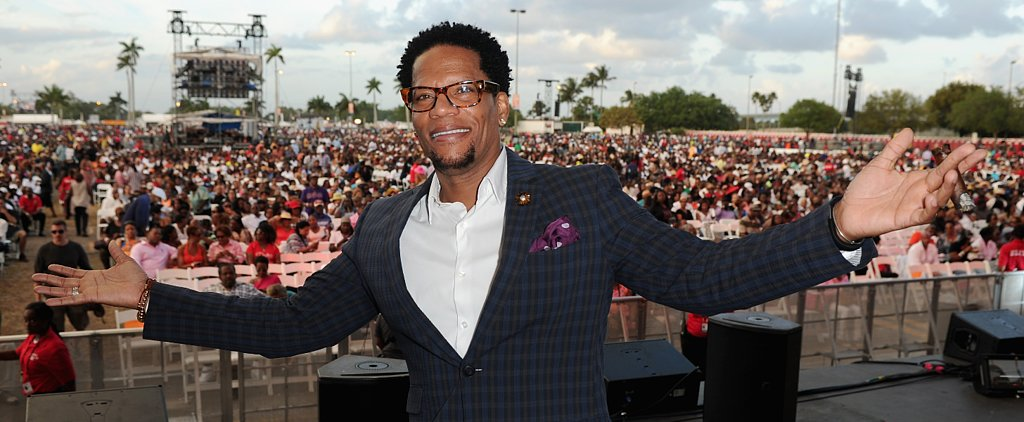 D.L. Hughley Shares an Emotional Story About His Son With Asperger Syndrome