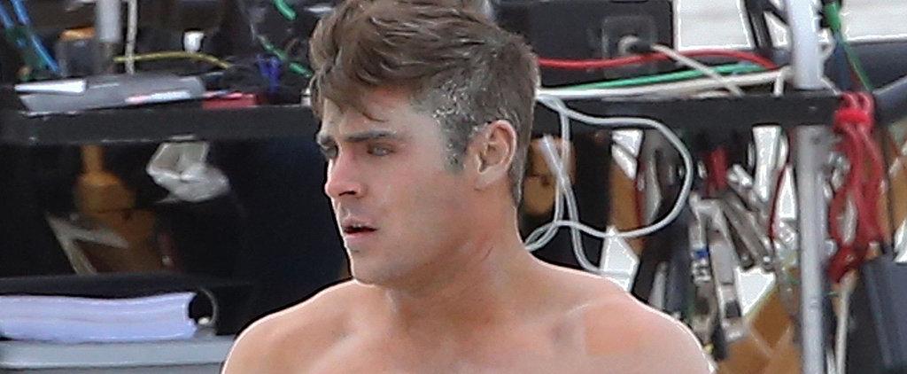 Zac Efron Is Wearing Nude Underwear, and Nothing Else Matters