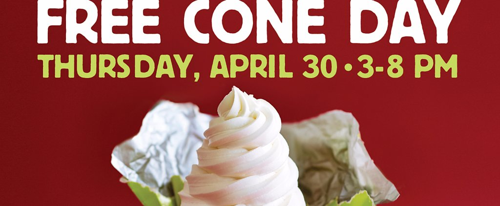 It's Free Cone Day at Carvel, and It's Giving Away Nutella Ice Cream