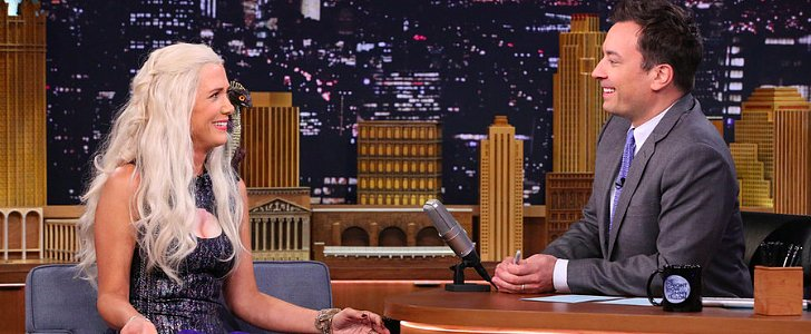 Kristen Wiig Did an Interview as Daenerys Targaryen For Jimmy Fallon