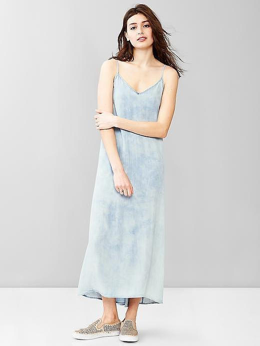 Gap Denim Maxi Dress