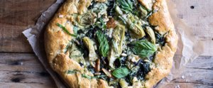 You Need to Bite Into a Cheesy, Flaky Spinach-and-Artichoke Galette
