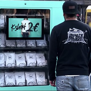 T-Shirt Vending Machine Video