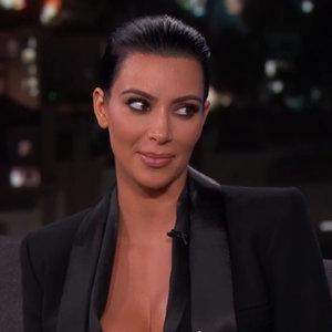 Kim Kardashian Interview About Bruce Jenner on Jimmy Kimmel