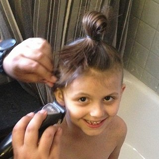 Mom Shaves Daughter's Hair Off