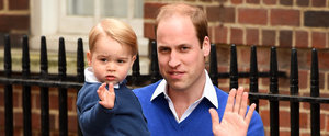 Prince George Arrives at the Hospital to Meet His Baby Sister!