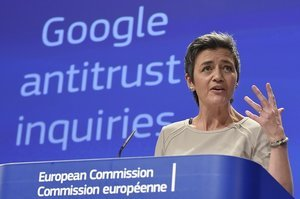 EU Isn't Targeting U.S. Tech Companies, Says Ambassador