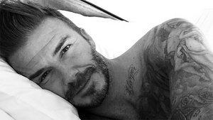 David Beckham Goes Shirtless In Instagram Debut