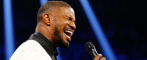 Everyone's Talking About Jamie Foxx's Spin on the National Anthem