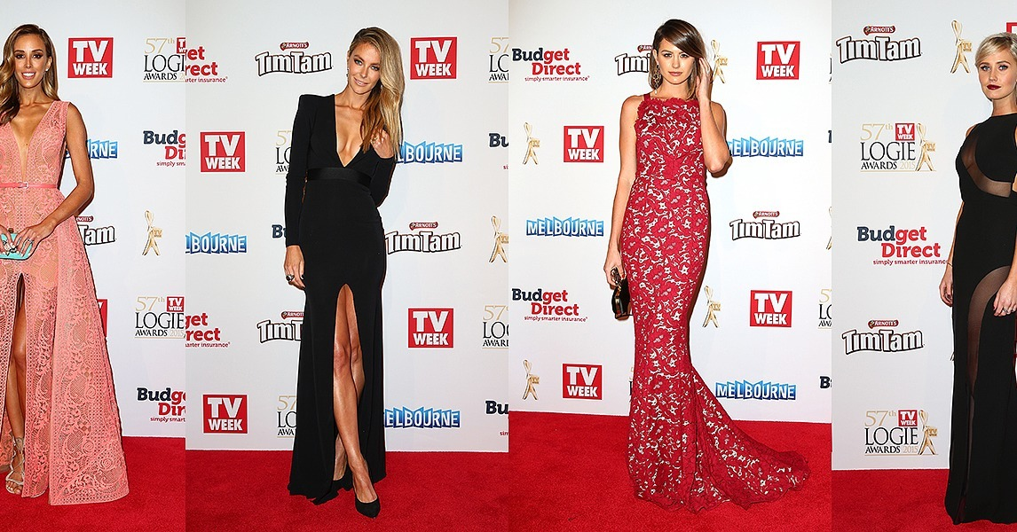 Tv Week Logies Awards Red Carpet Style 2015 Popsugar Fashion Australia