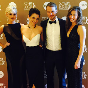 Jessica Tovey Pictures at 2015 Logies