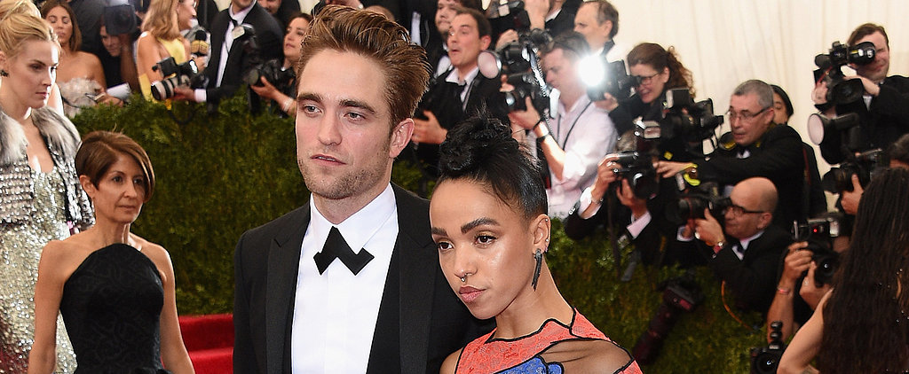 Rob and FKA Twigs Make Their First Ever Red Carpet Appearance Together