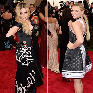 Madonna and Chloe Grace Moretz Met Gala 2015