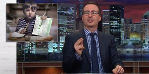 John Oliver Explains Everything That's Wrong With Standardized Testing