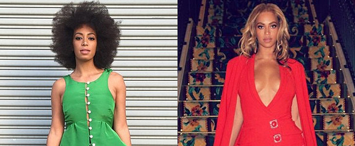 Forget the Fight — Beyoncé and Solange Duke It Out For Boldest Look