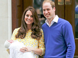 Tribute to Mum: Prince William and Princess Kate Name Their Baby Girl Charlotte Elizabeth Diana
