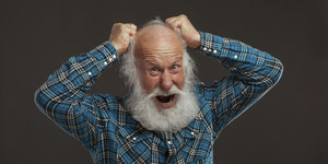 Beards Are Covered In Poop: Study