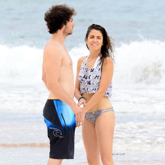 Ian Somerhalder and Nikki Reed Honeymoon Pictures