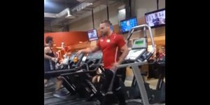 Gym Trainer Performs Jaw-Dropping Michael Jackson Dance Routine On Treadmill